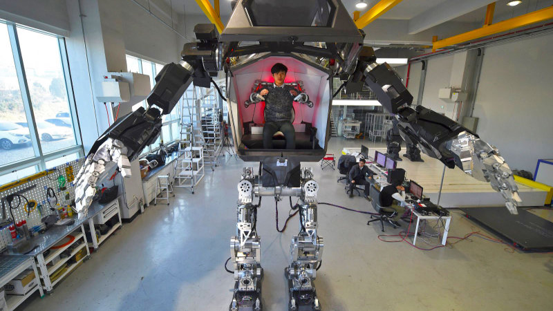 A South Korean robotics company just built a real Gundam