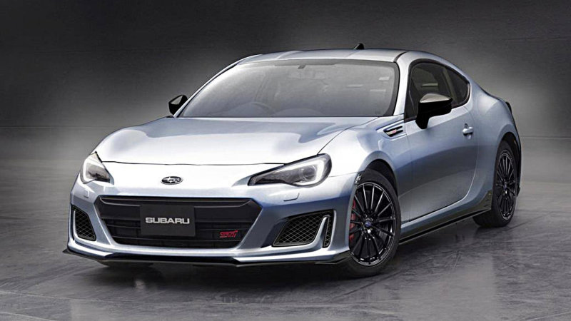 This Isn't The First Time A Subaru BRZ STI Concept Has Appeared