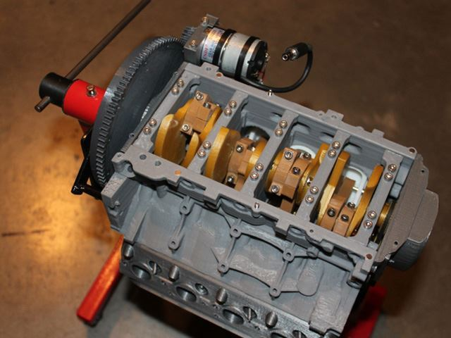 This Guy 3D-Printed An LS3 V8 And It Really Works