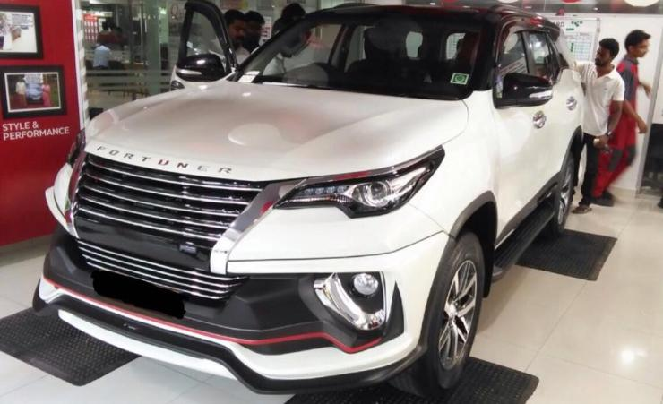 Toyota Fortuner with Nippon body kit further beefs up the SUV's looks