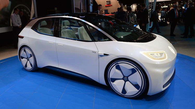 Volkswagen completes design work on new EV platform