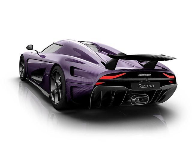 Koenigsegg Pay Tribute To Prince With Stunning Purple Regera Render