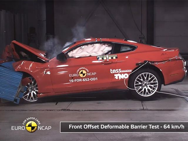 The Ford Mustang Has A Shocking Safety Rating Outside The US