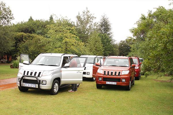 Mahindra TUV300 launched in South Africa