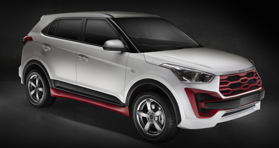 DC Design introduces customised Hyundai Creta