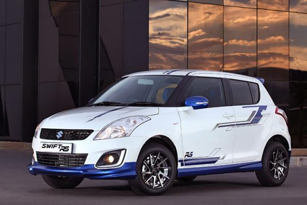 Suzuki Swift RS launched in South Africa
