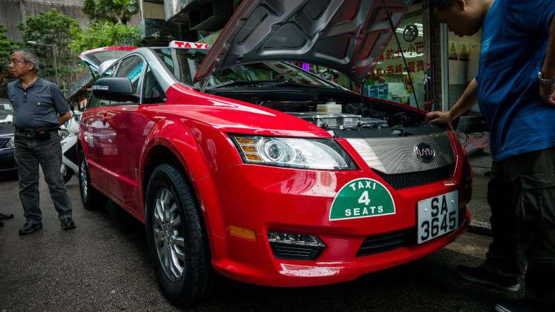 Beijing looks to replace entire taxi fleet with electric vehicles