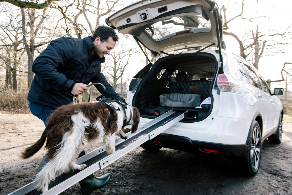 Nissan's latest X-trail concept is dog gone useful for pet owners