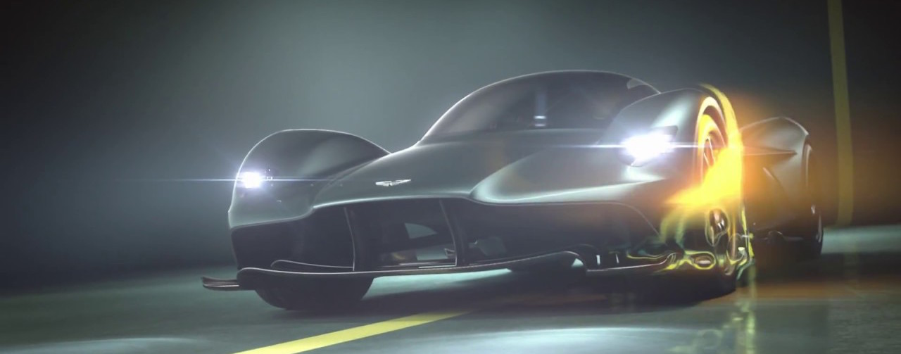 Aston Martin's upcoming hypercar officially named Valkyrie