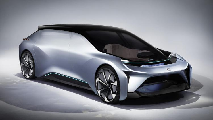 NIO debuts EVE concept at SXSW and Faraday Future cries foul