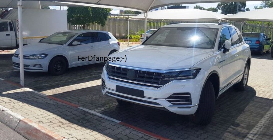2018 vw touareg 3rd gen spied undisguised in south africa for South motors vw service