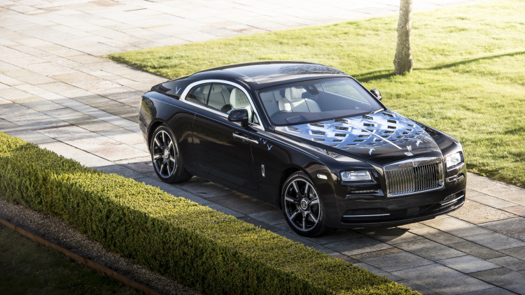 Going mobile: Custom Rolls-Royces inspired by British rock