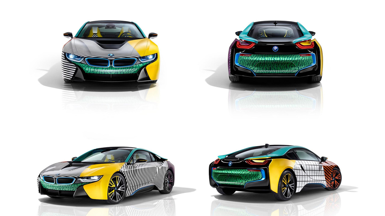 Just Try To Look Away From These Hideous BMW i3 And i8 One-Off