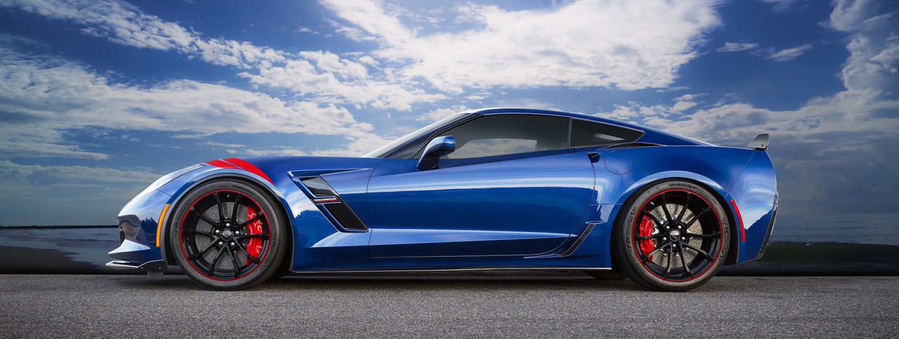 Chevy Building 5 Grand Sport Heritage Edition Corvettes For Japan