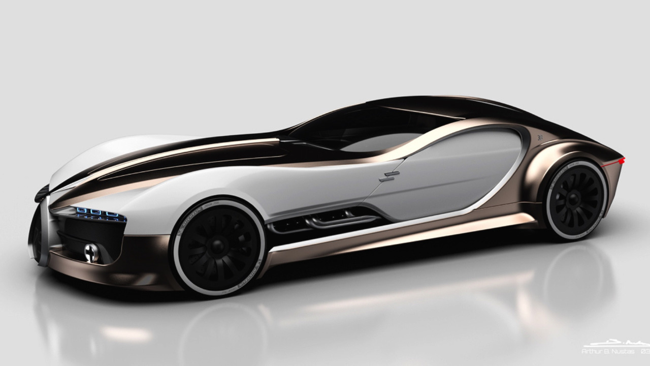 Bugatti Type 57 T Concept Is The Touring Car Of Our Dreams