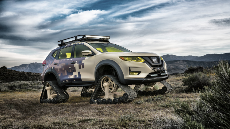 Nissan Rogue Trail Warrior Concept