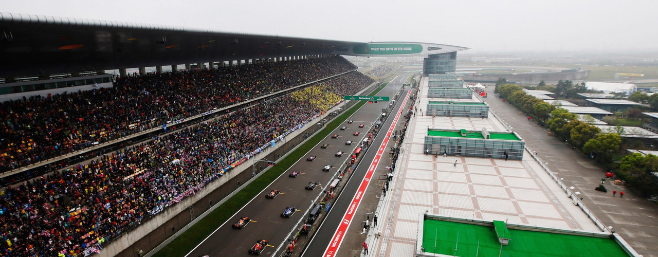 2017 F1 Chinese Grand Prix - Race Results
