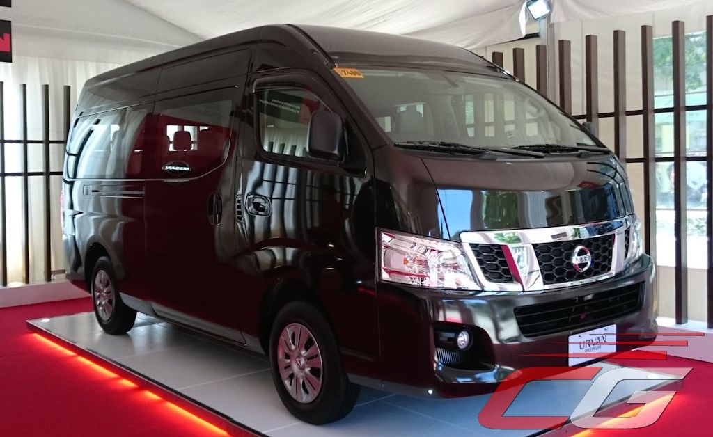 Nissan Urvan Premium launched in Philippines