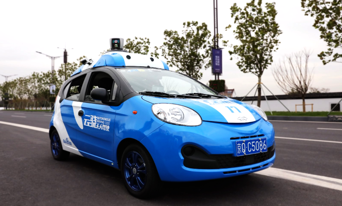 Baidu is making its self-driving car platform freely available to the automotive industry