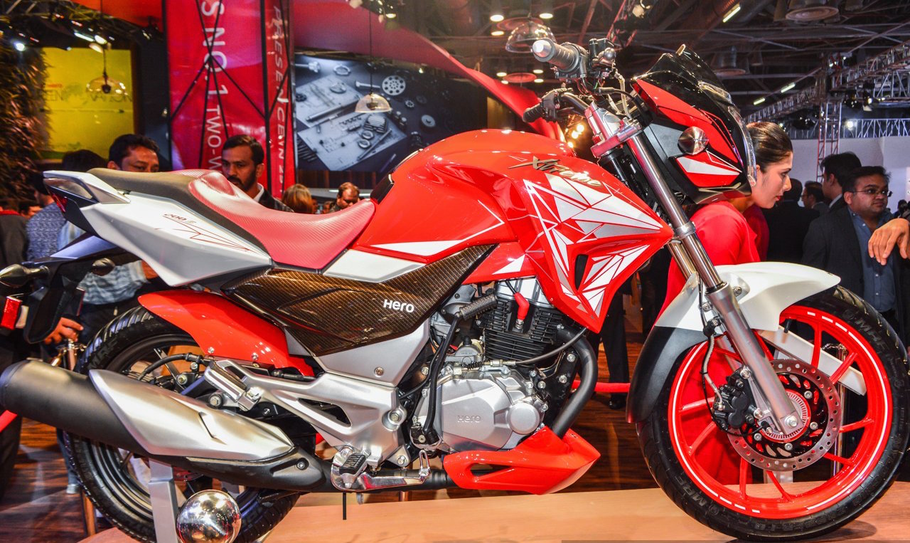 Hero Xtreme 200S to launch in early 2018