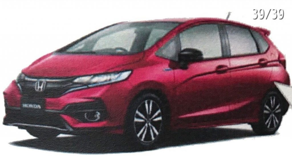 2017 Honda Jazz/2017 Honda Fit leaks out