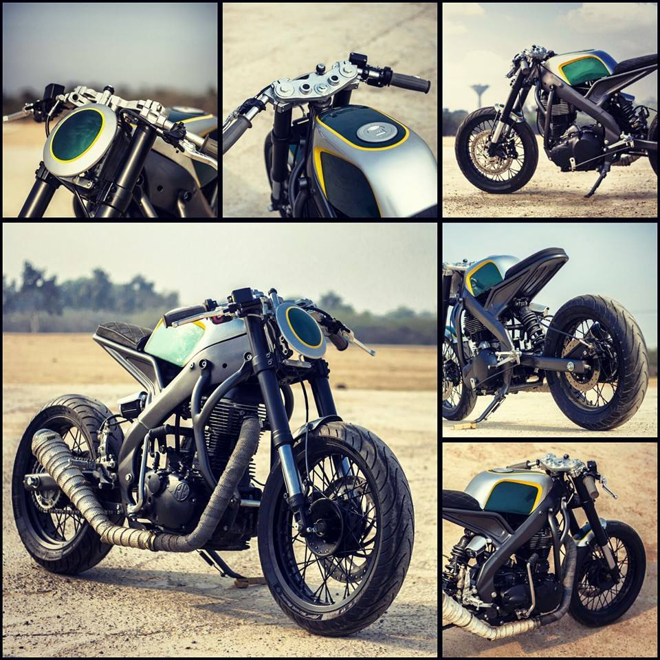 Yamaha R15 Tony 535 by Inline3 Cutom Motorcycles