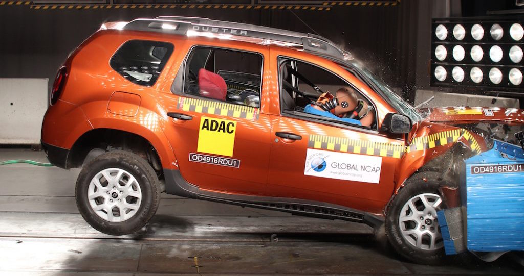 Renault India manufactures & sells the most unsafe Renault Duster specification