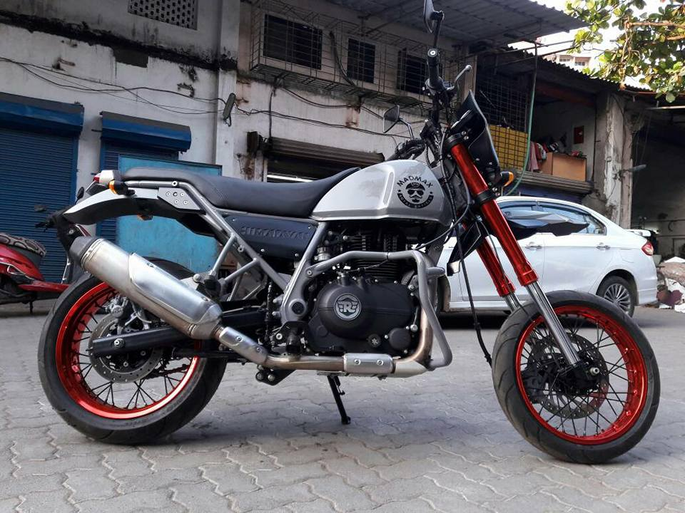 Royal Enfield Himalayan Madmax By Transfigure Custom House