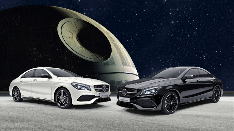 Mercedes-Benz Japan is selling a CLA 180 Star Wars edition