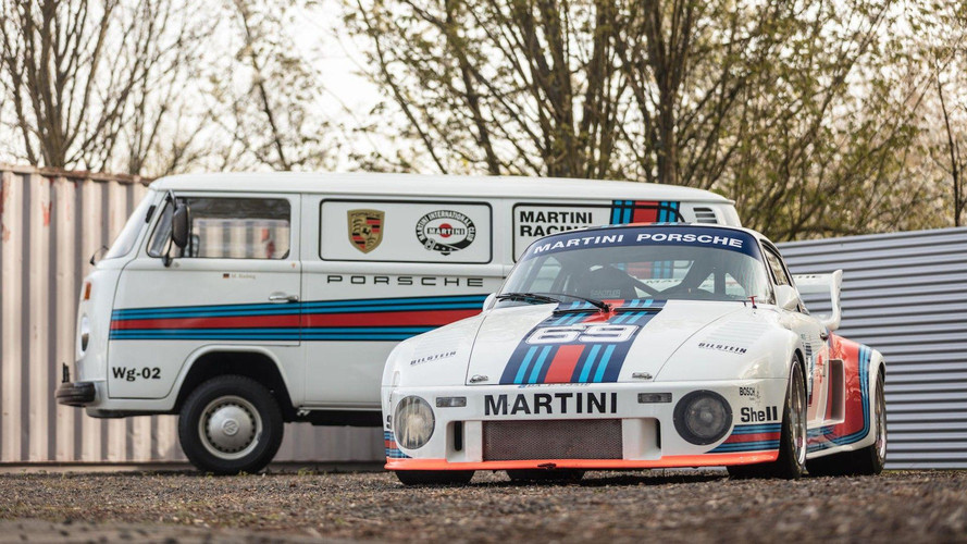 Amazing Porsche 935 And Matching Transport Van For Sale