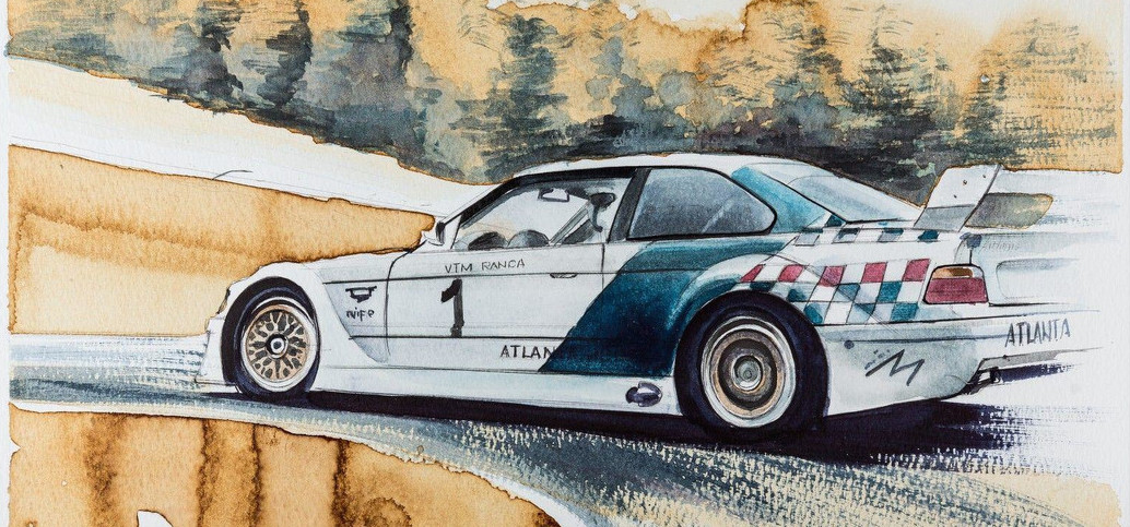 Check Out These BMW Paintings Made With Coffee