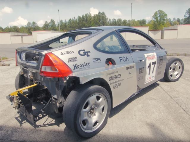 This Honda Insight Was Stripped Naked And Given A Subaru Flat-Six
