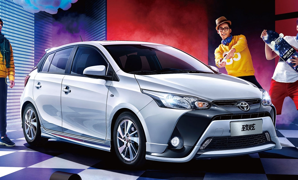 2017 Toyota Yaris launched in China