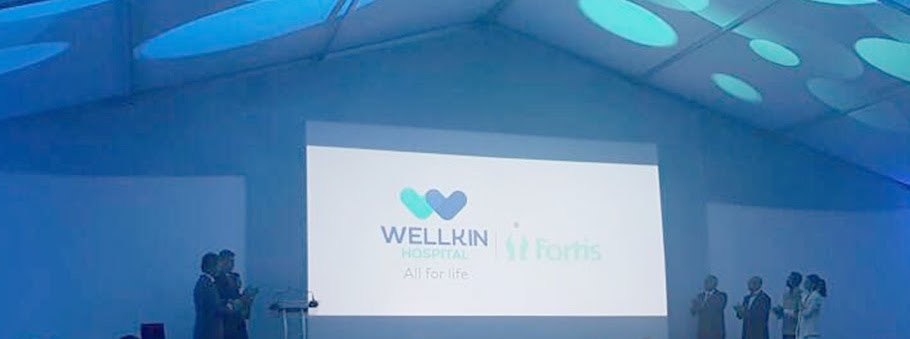 Wellkin Hospital opening ceremony