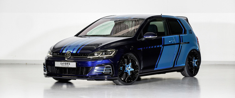 VW introduces hybrid Golf GTI First Decade at Worthersee