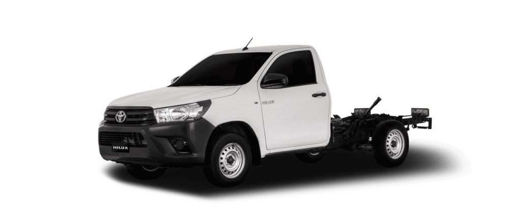 The Toyota Hilux Revo