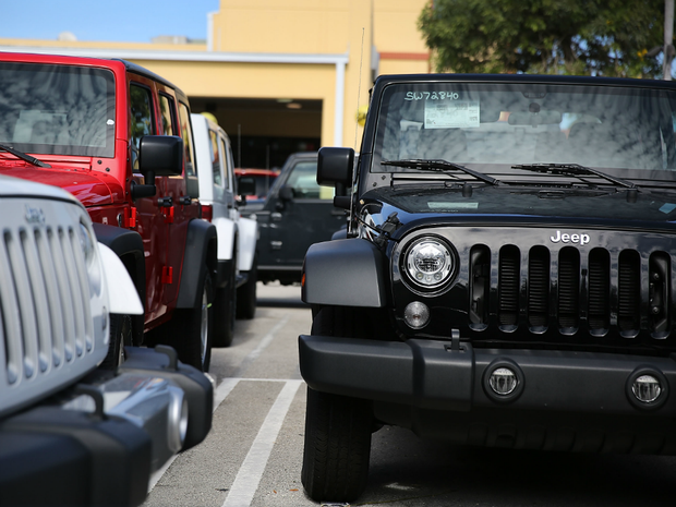 Aptly-named Hooligans motorcycle gang charged with stealing 150 Jeep Wranglers