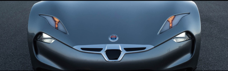 Henrik Fisker reveals the nose of the EMotion EV