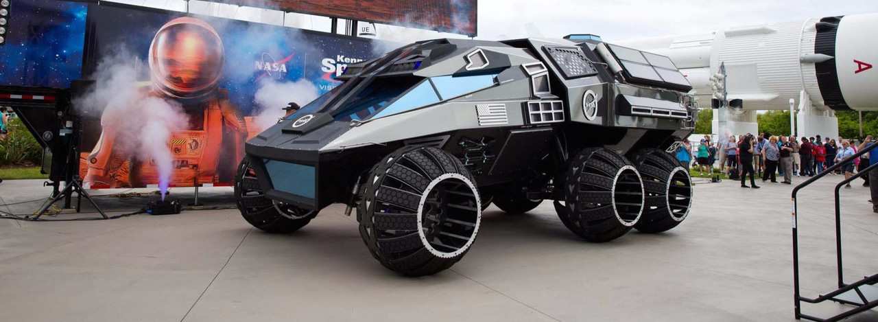 NASA Channels Armageddon With Mars Rover Concept Vehicle