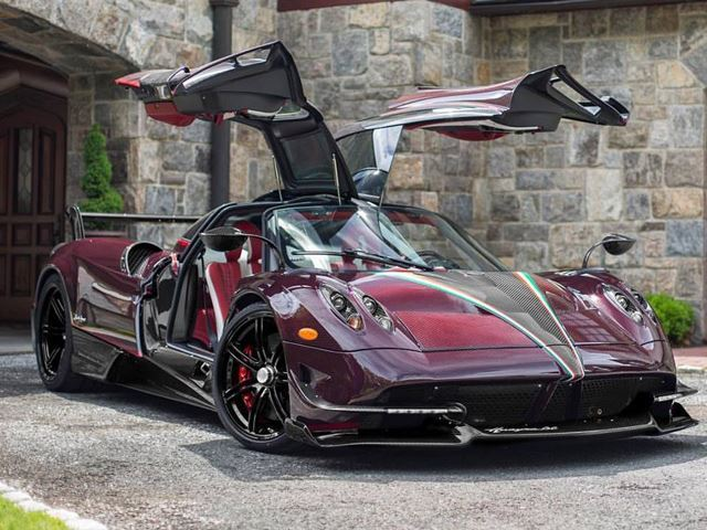 This Pagani Huayra BC Is A Red-Carbon Masterpiece