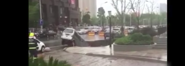 When Sinkholes Strike: Watch Mother Nature Devour Vehicles