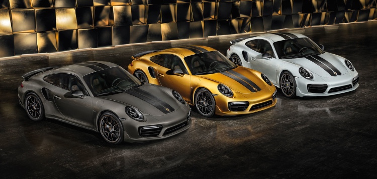 Porsche's most powerful 911 Turbo S is a 500-unit limited edition
