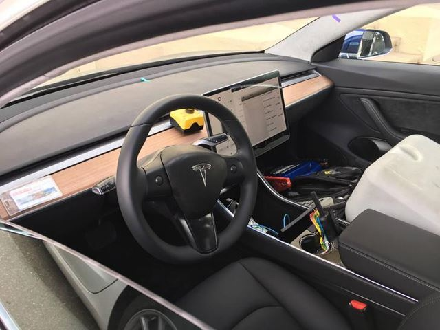 This Is What A $35,000 Tesla Model 3 Interior Looks Like