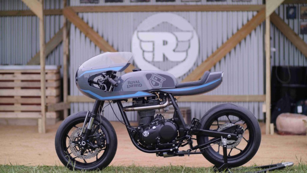 Royal Enfield Continental GT Surf Racer by Sinroja Motorcycles