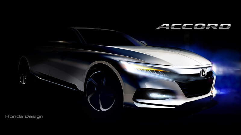 10th-generation Honda Accord set to debut on July 14