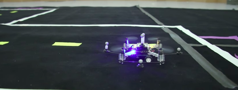 MIT drones switch between flying and driving, whichever's best