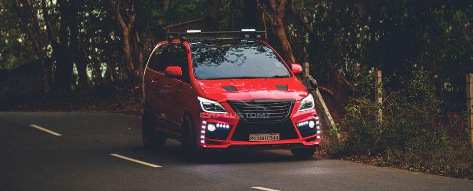 Is this the craziest Toyota Innova in India?