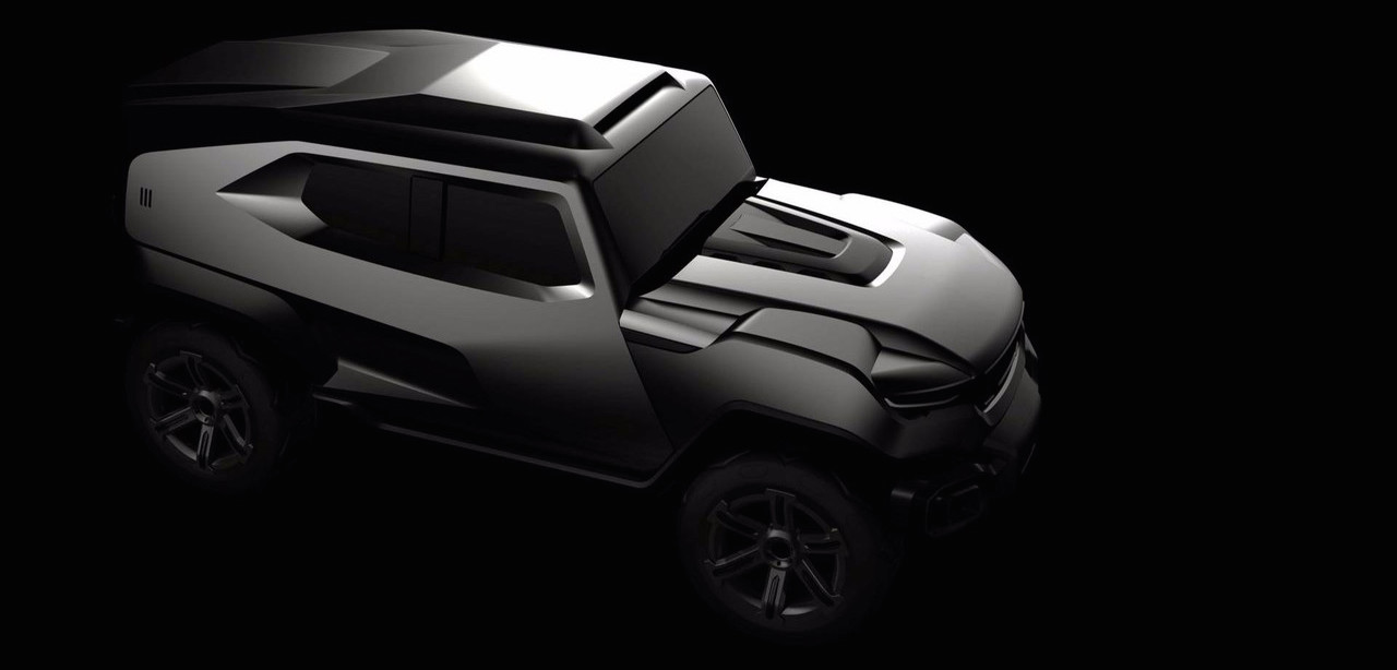 Rezvani Teases Hardcore, Military-Inspired SUV