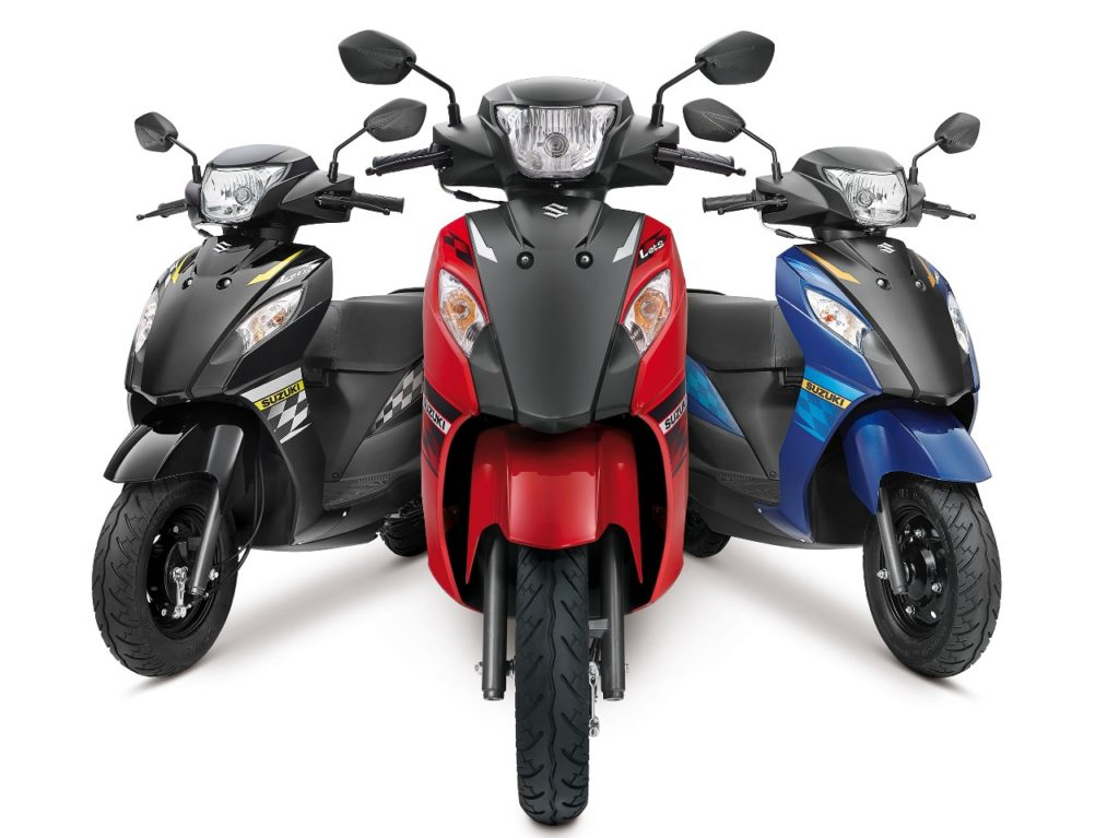 Suzuki Let's dual tone colour range launched
