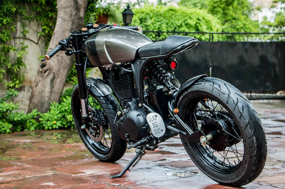 Royal Enfield Thunderbird cafe racer by Rajputana Customs
